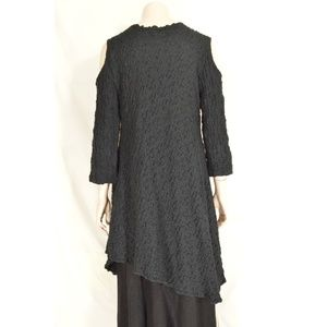Design Today's Dresses - Design Today's dress tunic S black long sleeve